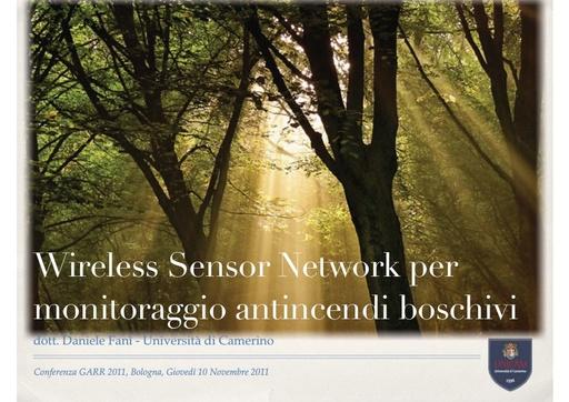 Conferenza GARR 2011 - Presentazione - Fanì D. - De Angelis F.