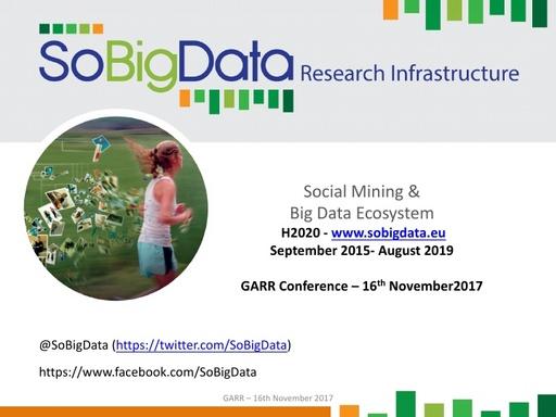 Conferenza GARR 2017 - Presentazione - Giannotti