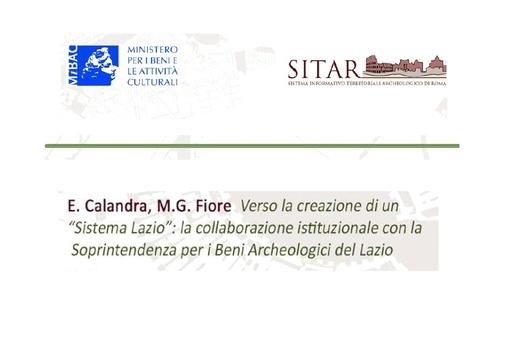 Sitar13 - Presentazione - Calandra - Fiore