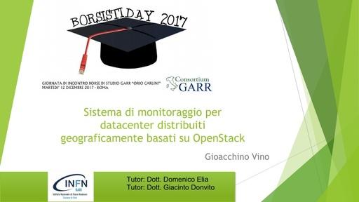 Borsisti Day 2017 - Gioacchino Vino