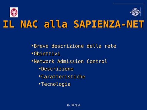 Ws08 - Presentazione - Borgia - ppt