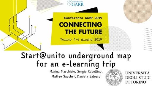 Conferenza GARR 2019 - Presentazione - Sacchet