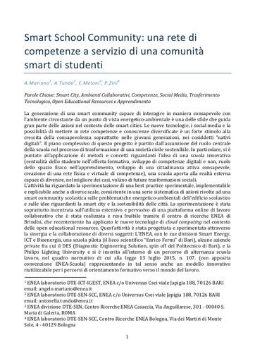 Conferenza GARR 2016 - Paper - Mariano