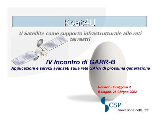 WS04 - Borri - Progetto Ksat4U