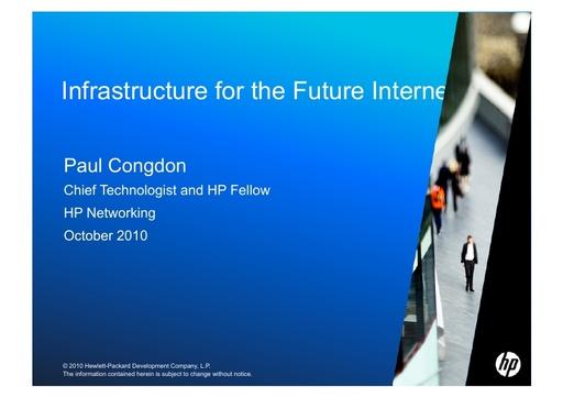 Conferenza GARR 2010 - Presentazione - Congdon