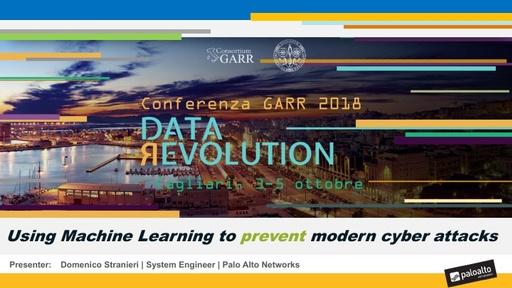 Conferenza GARR 2018 - Presentazione - Stranieri