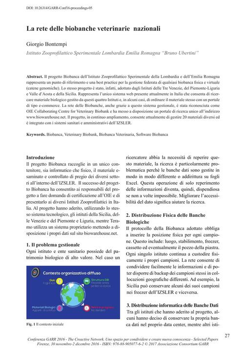 Conferenza 2016 - Selected Papers - Bontempi