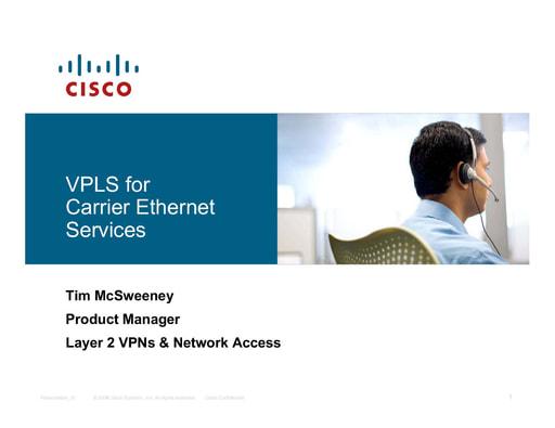 Ws07 - Presentazione - Cisco