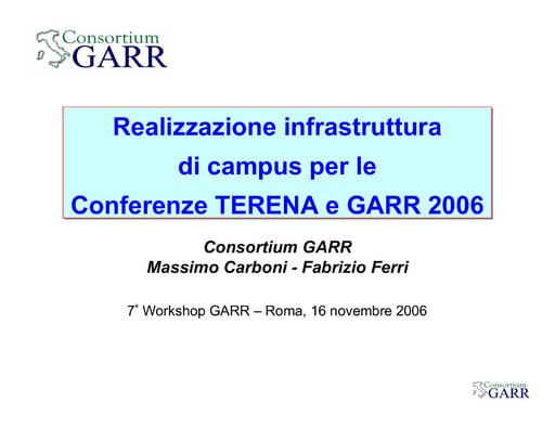 Ws07 - Presentazione - Carboni