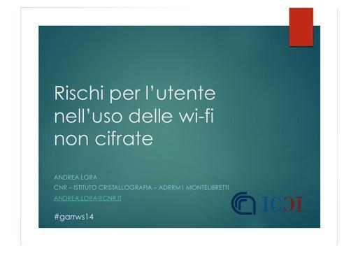 Ws14 - Presentazione - A. Lora