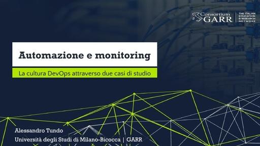 WS18 - A. Tundo - Automazione e monitoring