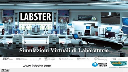 MoodleMoot 2017 - MediaTouch - Labster, simulazioni virtuali di laboratorio