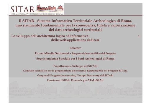 Conferenza GARR 2010 - Presentazione - Serlorenzi