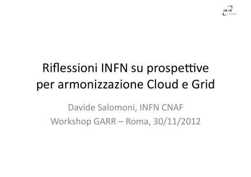 WsCSD12 - Presentazione - D. Salomoni
