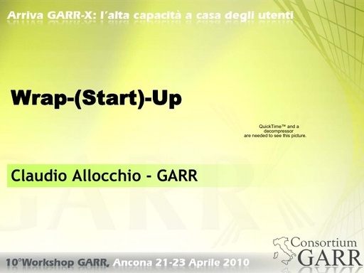 WS10 - Allocchio - Wrap-(Start)-Up