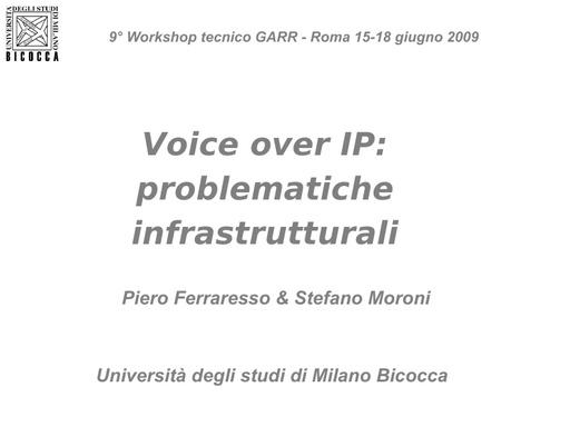 Ws09 - Presentazione - Moroni - Ferraresso - ppt