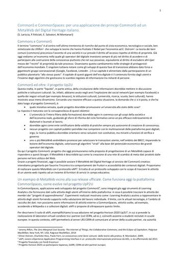 Conferenza GARR 2016 - Paper - Lariccia