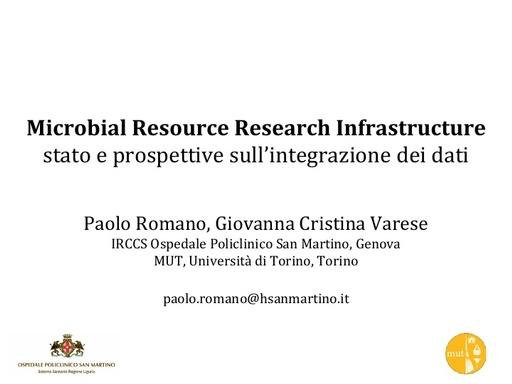 Conferenza GARR 2017 - Presentazione - Romano