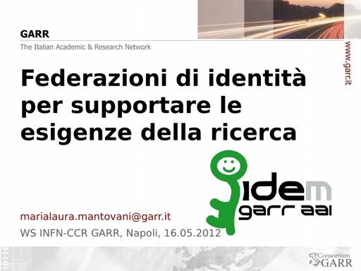 WS12 - presentazione - M. L. Mantovani