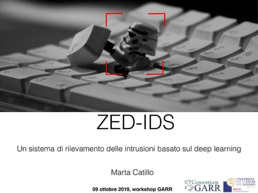 Workshop GARR 2019 - Presentazione - Catillo