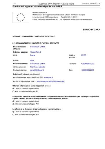 GARA-0904-ENOTICES_GARR-27072010-ID2010-098375
