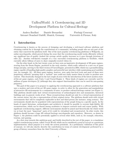 Conferenza GARR 2016 - Paper - Bernardini