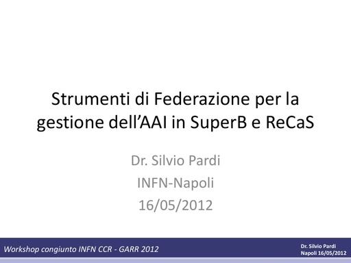 WS12 - presentazione - S. Pardi