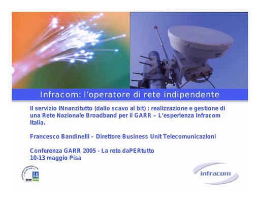 Conferenza GARR 2005 - Presentazione - Bandinelli