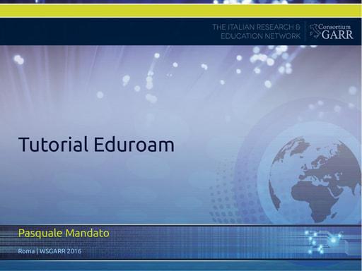 WS16 - CF Eduroam - tutorial