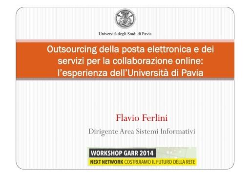 Ws14 - Presentazione - F. Ferlini