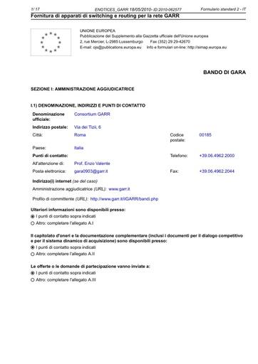 GARA-0903-ENOTICES_GARR-2010-062577-F02-IT