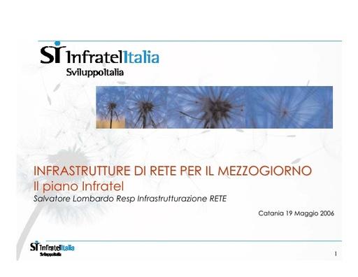 Conferenza GARR 2006 - Presentazione - Lombardo