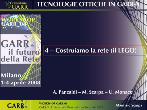 Ws08 - Presentazione - Pancaldi - Scarpa - Monaco - Tut
