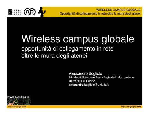 Ws09 - Presentazione - Bogliolo