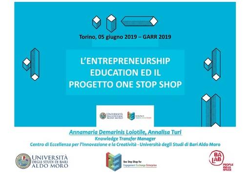 Conferenza GARR 2019 - Presentazione - Demarinis