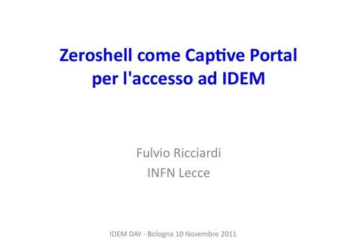 III IDEM Day - presentazione - Ricciardi F.