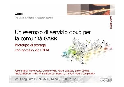 WS12 - presentazione - F. Farina