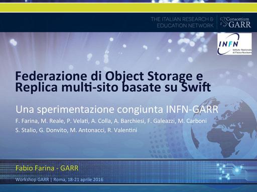 Ws16 - Presentazione - F. Farina