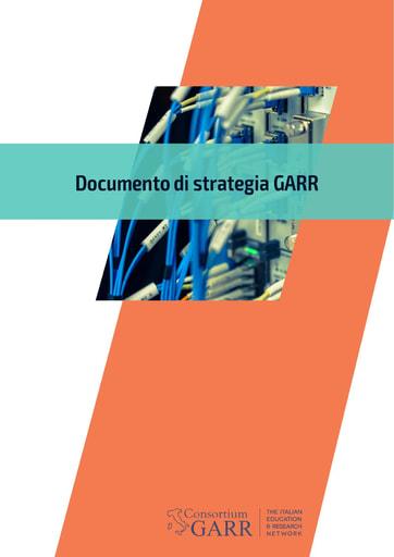 Documento di strategia GARR - 2020