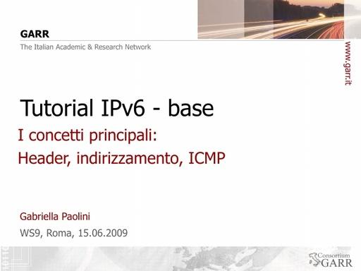 Ws09 - Presentazione - Paolini - Tutorial 1