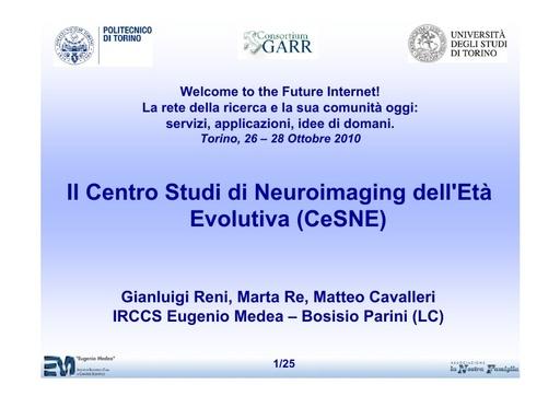 Conferenza GARR 2010 - Presentazione - Reni