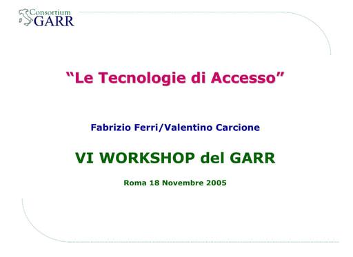 Ws06 - Presentazione - Ferri