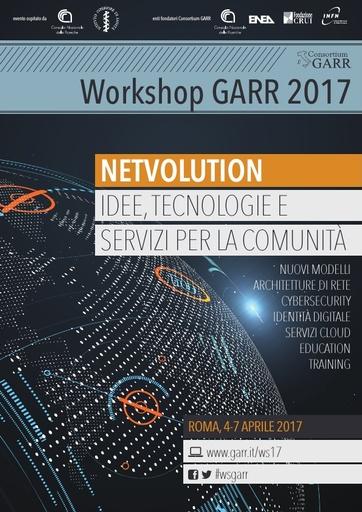 Ws17 - Programma del workshop GARR 2017