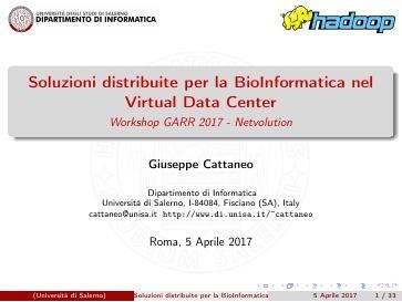 Ws17 - Presentazione - GdL Cloud - Cattaneo