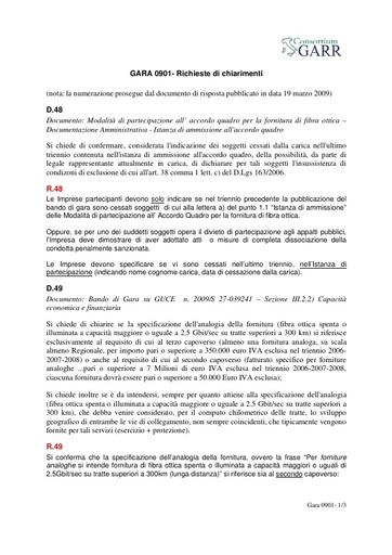 Gara0901-20090330-Richieste-di-chiarimenti