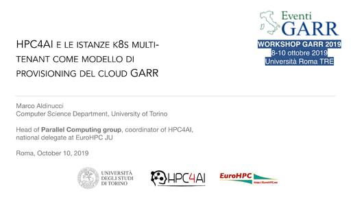 Workshop GARR 2019 - Presentazione - Aldinucci