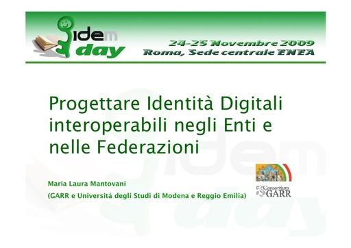 I IDEM Day - presentazione - Mantovani
