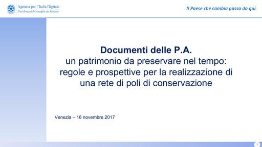 Conferenza GARR 2017 - Presentazione - Montanaro