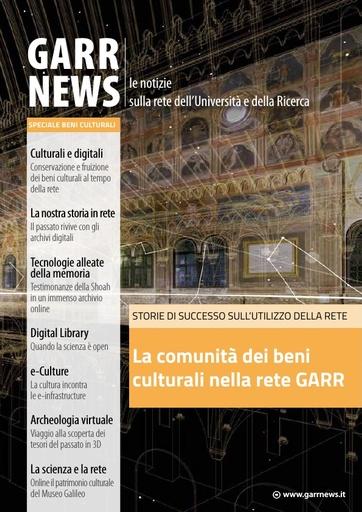 GARR News - Speciale Beni Culturali