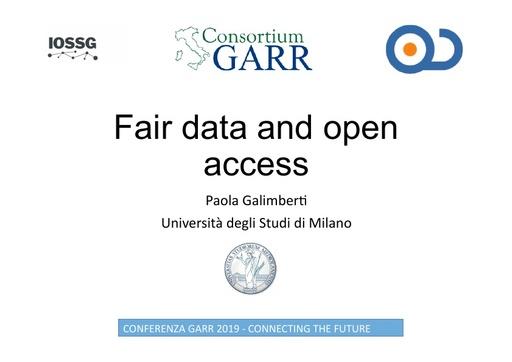 Conferenza GARR 2019 - Presentazione - Galimberti